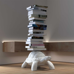 Turtle Carry Bookcase摆件