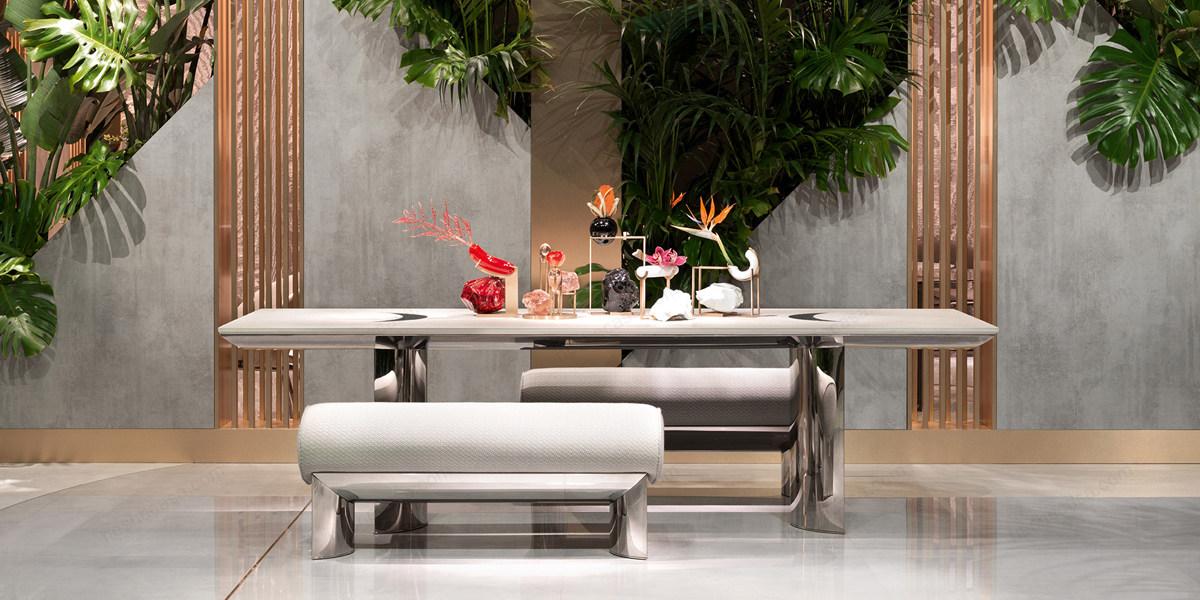 VISIONNAIRE餐桌:令人印象深刻的华丽与优雅