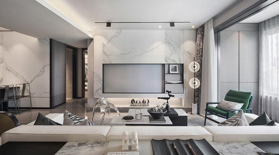 拓宽客厅空间的装修效果图 第8张